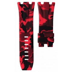 Horus Camouflage Rubber Red for APROO 44mm