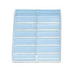 Plastic Box for assortment with 12 divisions