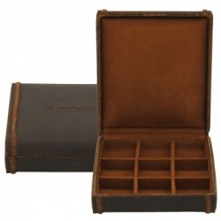 Cubano small cufflinks box