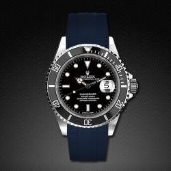 Bracelet RubberB M103 Bleu