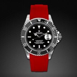 Bracelet RubberB M103 Rouge