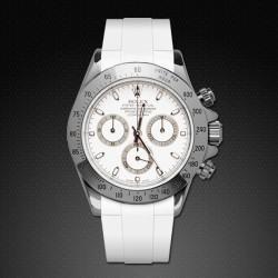Bracelet RubberB M103CD Blanc