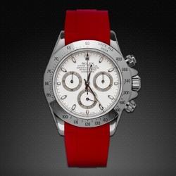 Bracelet RubberB M103CD Rouge