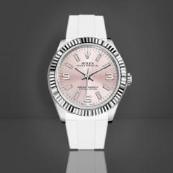 Bracelet RubberB M316 Blanc