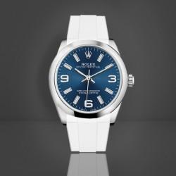 Bracelet RubberB M216 Blanc