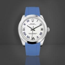 Bracelet RubberB M216 Bleu