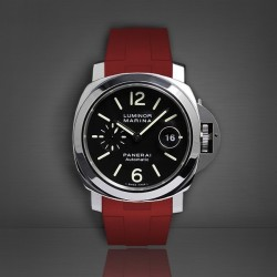 Bracelet RubberB Luminor 44 mm Rouge