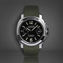 Bracelet RubberB Luminor 44 mm Vert