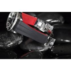RubberB strap M112 Noir/Rouge