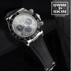 Bracelet RubberB Ballistic SwimSkin Noir