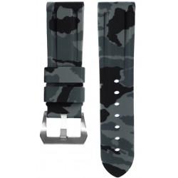 Horus Bracelet Camouflage Caoutchouc pour Panerai graphite
