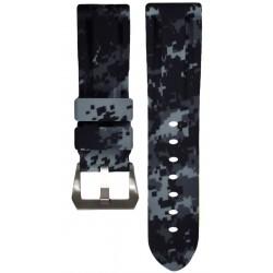 Horus Bracelet Camouflage Caoutchouc pour Panerai digital graphite
