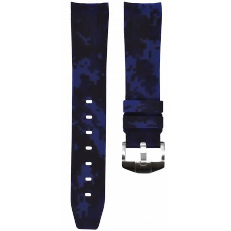 Horus Camouflage pour Rolex Digital Bleu