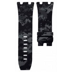 Horus Bracelet Camouflage Rubber Digital Gris pour APROO 44mm