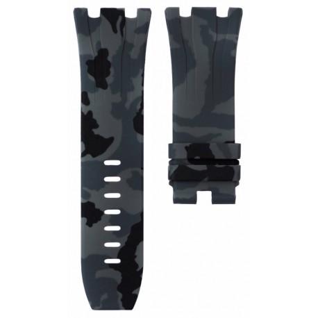 Horus Bracelet Camouflage Rubber Graphite pour APROO 44mm