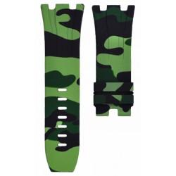Horus Bracelet Camouflage Rubber Vert pour APROO 44mm