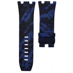 Horus Camouflage Rubber Digital Blue for APROO 44mm