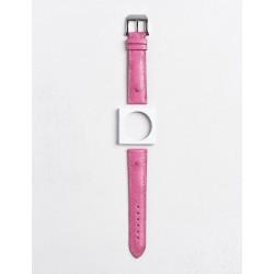 Bracelet Camille Fournet Autruche rose