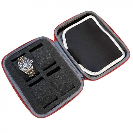 Kronokeeper Travel Case for 4 watches