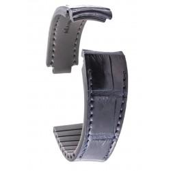 R-Strap Bracelet Aligator pour Rolex - Bleu foncé