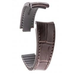 R-Strap Bracelet Aligator pour Rolex - Marron