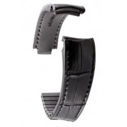 R-Strap Bracelet Aligator pour Rolex - Noir