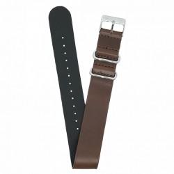 Bracelet Zulu Kronokeeper - Basile brun