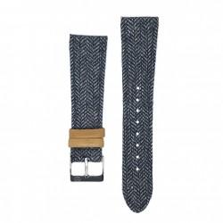 Bracelet Kronokeeper - Gustave blue/grey