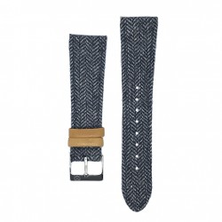 Kronokeeper strap - Gustave blue/grey