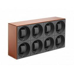 SwissKubiK MasterBox Remontoir par 8 Montres - Cuir