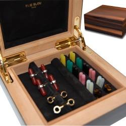 "Elie Bleu - ""Weekly"" box cufflinks Paris"