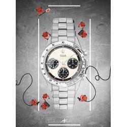 Watchoniste X MisterChrono tirage d'art - daytona - 60x80