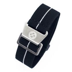 Parachute strap - Black/White