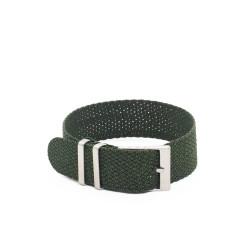 Kronokeeper Perlon strap Dark Green