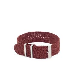 Bracelet perlon KronoKeeper - Burgundy