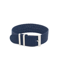 Bracelet perlon KronoKeeper - Bleu foncé