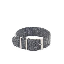Bracelet perlon KronoKeeper - Gris
