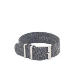 Kronokeeper Perlon strap Grey