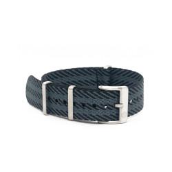 Premium NATO strap - Black/Grey