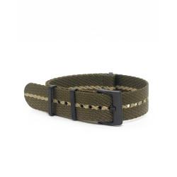 Premium nato strap PVD buckle - Olive/Khaki