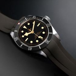 RubberB bracelet T800 pour Tudor Vert militaire / Vert militaire satiné