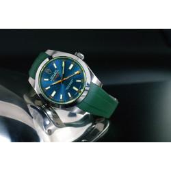 Bracelet RubberB M115 Vert