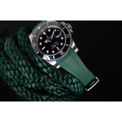 Bracelet RubberB M104 Vert