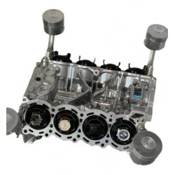LMP2 Nismo WK45 V8 Engine Coffee Table