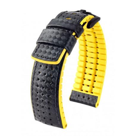 Bracelet pour montre Ayrton Hirsch Jaune