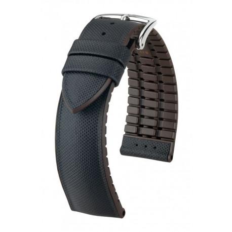Bracelet pour montre Arne Hirsch Noir/Marron
