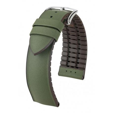 Bracelet pour montre Arne Hirsch Vert/Marron