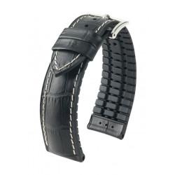 Bracelet pour montre George Hirsch Noir