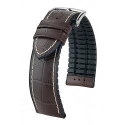 Bracelet pour montre George Hirsch Marron