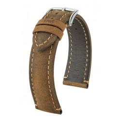 Bracelet pour montre Heritage Hirsch Brun